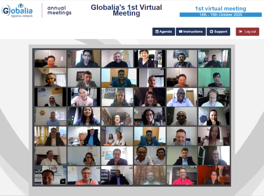 GLOBALIA 1ST VIRTUAL MEETING