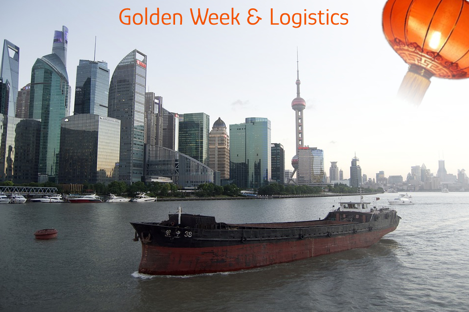 transportation and logistics industry Golden Week China