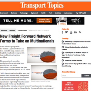 New Freight Forwarder Network forms to take on multinationals – TT