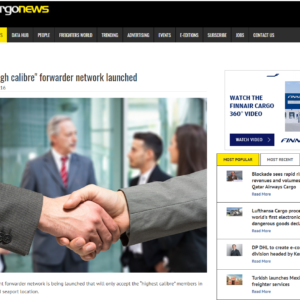 New high calibre forwarder network launched – AIRCARGONEWS