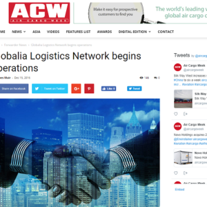 Globalia Logistics Network begins operations – AIR CARGO WEEK