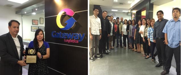 partner with logistics company