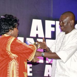 Globalia Tema/Accra receives the Outstanding Haulage Company of the Year Award