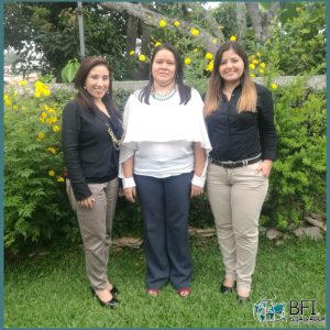 Globalia member in San Salvador welcomes 3 new members to their sales department