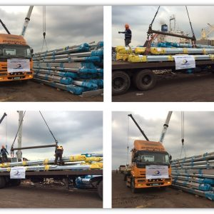 Globalia Manila and Cebu delivers transmission tower parts from China to Philippines