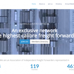 Globalia launches a professional and cutting-edge website which will greatly boost the productivity of the members