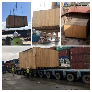 Local shipping & trucking of Oog-Heavy Cargo from Globalia Haiphong