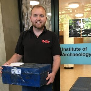 Globalia London carries out the delivery of a special pre-historic discovery of human remains