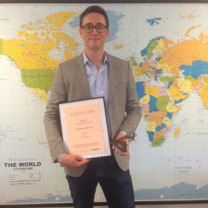 GLB Copenhagen/Odense is 3-time winner of The Gazelle Award