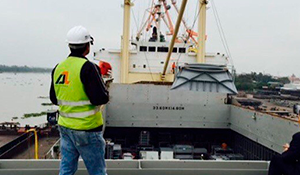 GLB Haiphong – steel structure shipment to India
