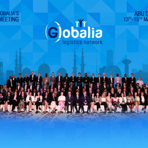 Globalia's 3rd Annual Meeting brings together more than 100 freight forwarders to Abu Dhabi