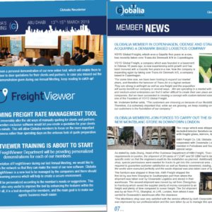 The first edition of Globalia's 2019 newsletters has been published!