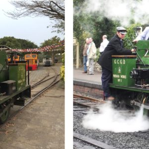 The Dougal Steam Locomotive returns home thanks to the cooperation of Globalia members from Kaohsiung and Southampton