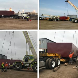 Globalia Santiago handles an important shipment consisting of 24 40'Flatrack containers from Puerto Antofagasta to Copiapó