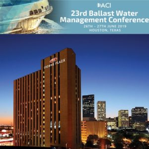 Globalia partners with ACI 23rd Ballast Water Management Conference