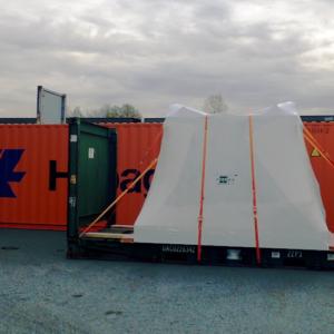 Globalia Porto Alegre moves a collaboration shipment from Sidney, Canada, to Rio Grande Port, Brazil