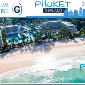 Globalia's 4th Annual Meeting will take place at Le Meridien Beach Resort in Phuket, Thailand