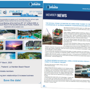 The second edition of Globalia's 2019 newsletters has been published and available for viewing on the website