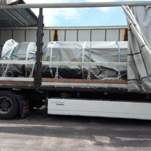 Globalia Piraeus moves a colossal cargo of 243,000 Kg from Greece to Romania