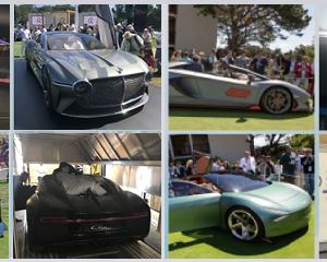 "Globalia Atlanta handles the door-to-door transportation of several exclusive automobiles including Bugatti ""La Voiture Noire"" and Bentley EXP 100GT for the Monterey Car Week"