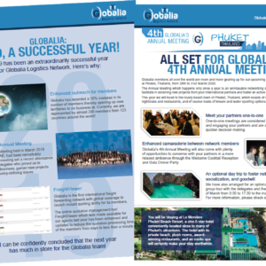 The winter edition of Globalia's 2019 newsletters is now available for viewing on our website