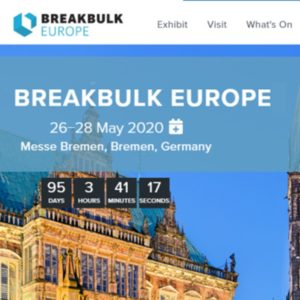 Globalia partners with Breakbulk Europe, the world's largest event for the project cargo and breakbulk industry
