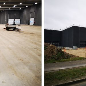 Yoyo Global Freight is expanding their warehouse facility in Denmark