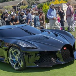 "Globalia Atlanta handles the door-to-door transportation of several exclusive automobiles including Bugatti ""La Voiture Noire"" and Bentley EXP 100GT for the Monterey Car Week"