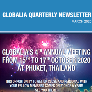 The March edition of Globalia's quarterly newsletters is now online!