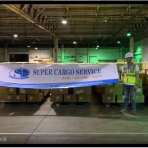 Globalia Ho Chi Minh does their part to combat the epidemic by moving over 5 million health protection items from Ho Chi Minh to New York, USA