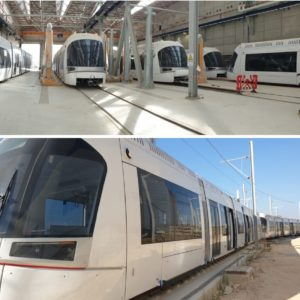 Globalia Haifa caters to the logistical requirement for the Tel Aviv Light Railway Project