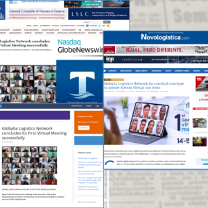 Globalia's 1st Virtual Meeting has been covered by several prominent websites of the shipping sector