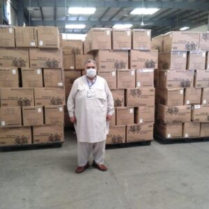 Globalia Sialkot undertakes an important air-charter shipment for the Government of France