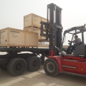 Globalia Nouakchott handles the full logistic chain of delivery and installation of a military hospital