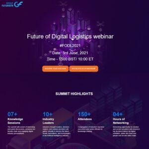 "Globalia media partner Group Futurista hosts the ""Future of Digital Logistics"" webinar"