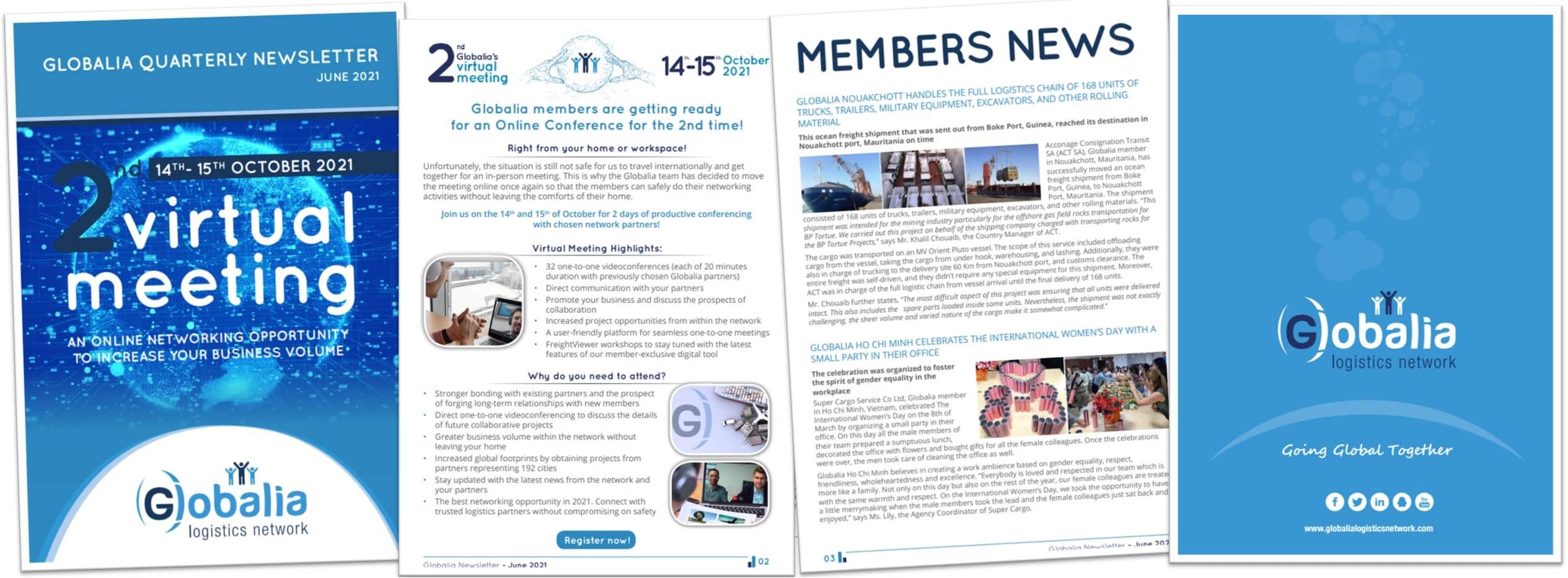 Globalia's June Newsletter