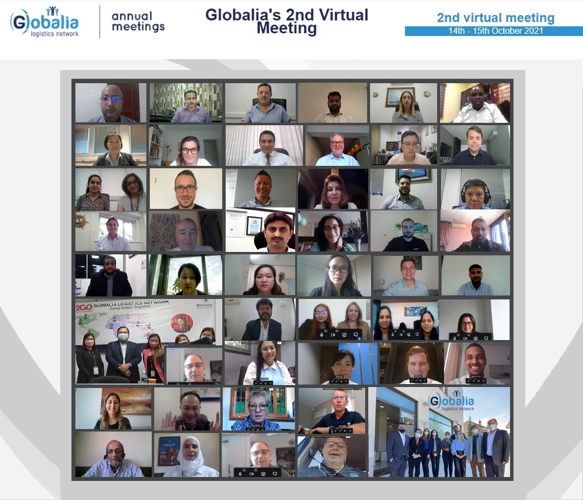 Globalia's 2nd virtual meeting of independent freight forwarders